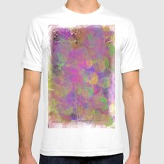Pastel  Mens Fitted Tee SMALL White