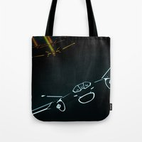 TRON LIGHT JET Tote Bag