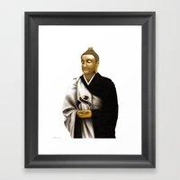 SIDDHARTHA GAUTAMA Buddh… Framed Art Print