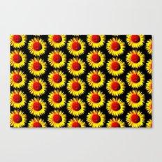 Sunflower group Canvas Print