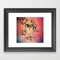 This Is Karma Stormtroop… Framed Art Print