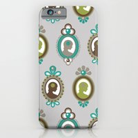iPhone & iPod Case featuring That Pretty Lady [Grey] by Veronica Galbraith