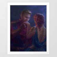 Cullen And Inquisitor - … Art Print