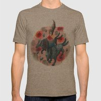 Haze Mens Fitted Tee Tri-Coffee SMALL