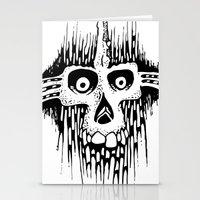 Skully Line Stationery Cards