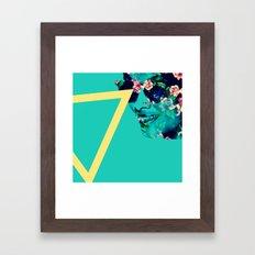 Flowerful Framed Art Print