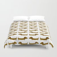 The Essential Patterns of Childhood - Dog Duvet Cover