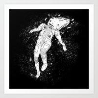 Astroinaut Art Print