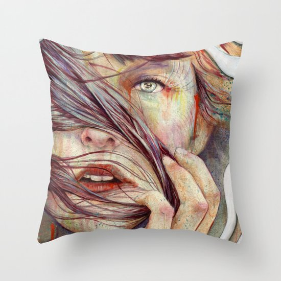 Opal Throw Pillow
