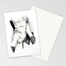 DECONSTRUCTION OF DAVID BOWIE  Stationery Cards