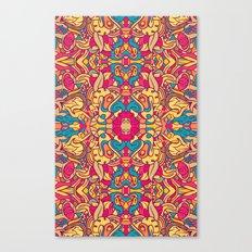 Eye Of The Beast Pattern Canvas Print