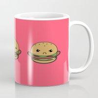 Cute Hamburguer Mug