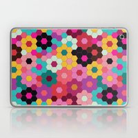 Honeycomb Blooms Laptop & iPad Skin