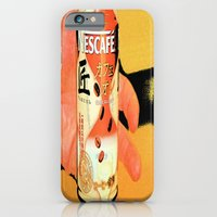 iPhone & iPod Case featuring Cafe au Lait by monjii art