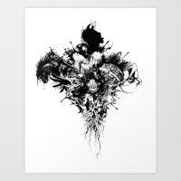 Devil May Care Art Print