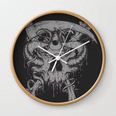 Sickle & Bone  Wall Clock