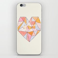 Pour Toujours iPhone & iPod Skin