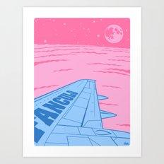 Goodbye Art Print