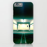 iPhone & iPod Case featuring Empty parking lot. by John Martino