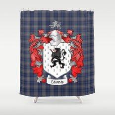 Edwards Crest and Tartan Shower Curtain