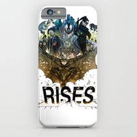 iPhone & iPod Case featuring you're COLOR rises by Jasey Crowl