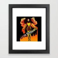 Dark Phoenix Framed Art Print