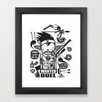 SORRY I MUST KILL YOU ! … Framed Art Print