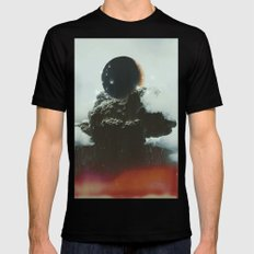 Final Eclipse SMALL Mens Fitted Tee Black