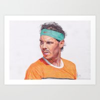 RAFA NADAL! Art Print