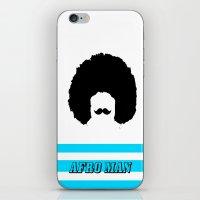 AFRO MAN iPhone & iPod Skin