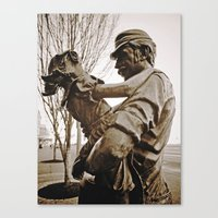 Working-class Tribute Canvas Print