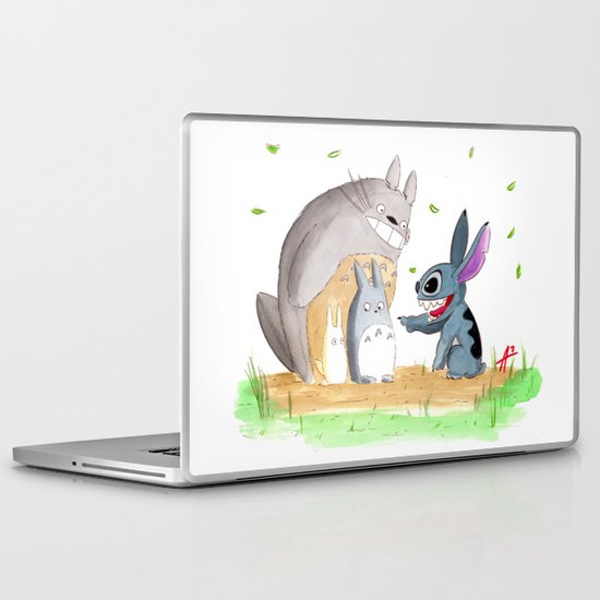 Ohana Means Family Laptop & iPad Skin