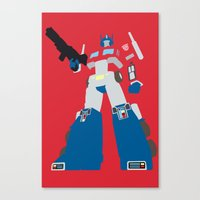 Transformers G1 - Optimu… Canvas Print