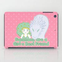 Summons Are A Girl's Bes… iPad Case
