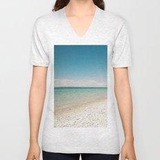Seaside Manitou Island Unisex V-Neck