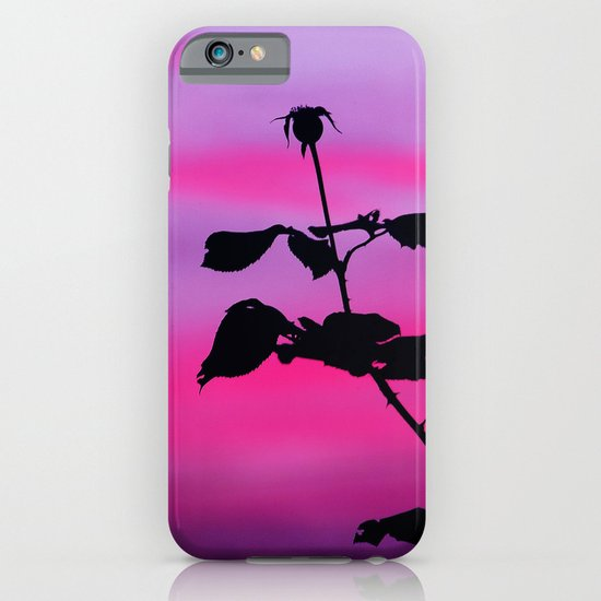 The Sunset of a Rose iPhone & iPod Case