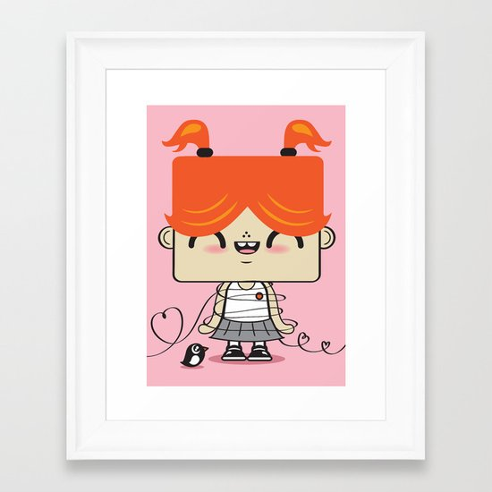 Love Song Part II Framed Art Print
