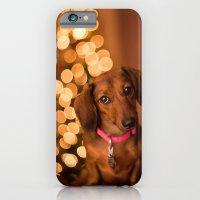 Dachshund Christmas iPhone 6 Slim Case