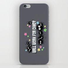 Spirited Soot iPhone & iPod Skin