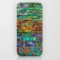 :: Technicolor Walkway :: iPhone 6 Slim Case