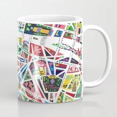 A Map Of Paris Mug