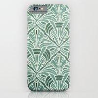 Art Nouveau Grunge Patte… iPhone 6 Slim Case