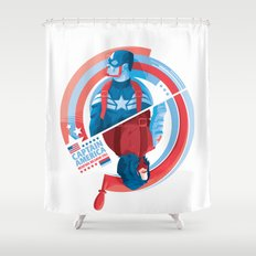 The Winter Soldier Shower Curtain