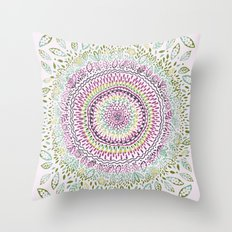 Intricate Spring Throw Pillow