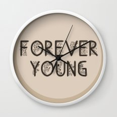 ∞ YOUNG Wall Clock