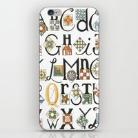 The ABC's of Quilting iPhone & iPod Skin
