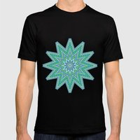 Kaleidoscopic-Oceania Co… Mens Fitted Tee Black SMALL