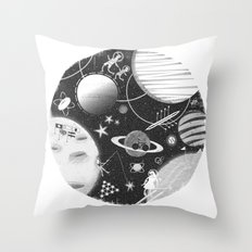SPACE & SPORT Throw Pillow