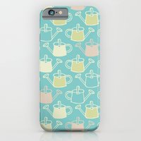 Watering Cans On Teal iPhone 6 Slim Case