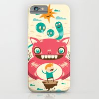 iPhone & iPod Case featuring Imaginary Friends by Ricardo Ajcivinac